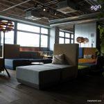 Lounge im 25hours Bikini Berlin Hotel