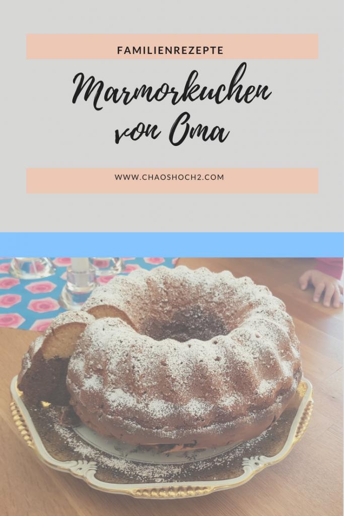Familienrezept: Marmorkuchen wie von Oma