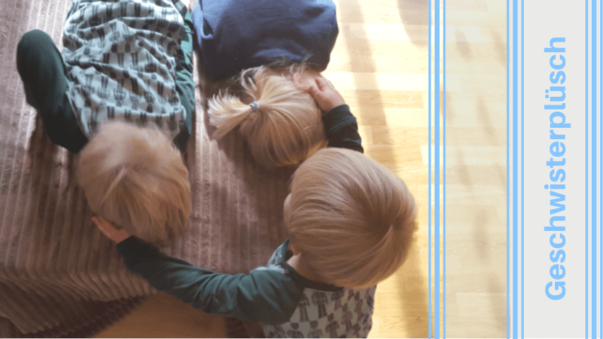 gemütliche Herbstnachmittag mit kleinen Kindern