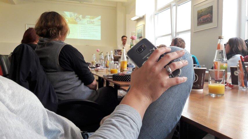 Workshop Versorgung während der Wubttika / Elternbloggerkonferenz