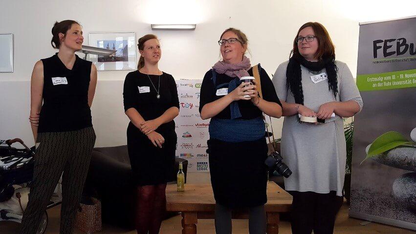 Organisatorinnen der Wubttika / Elternbloggerkonferenz