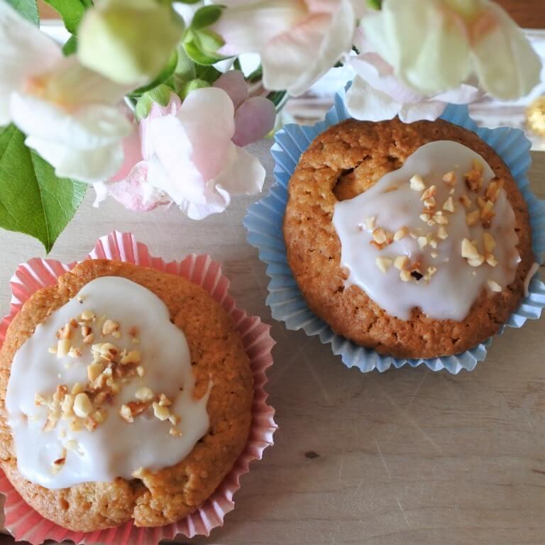 zuckersüße Möhren-Muffins aus dem Thermomix