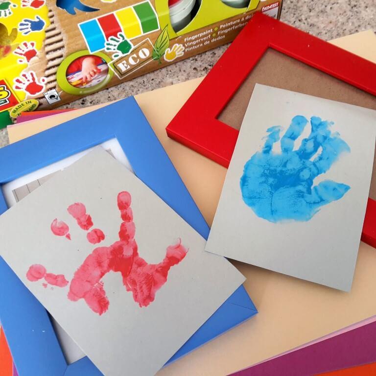 Handabdrücke sind Kindheitserinnerungen