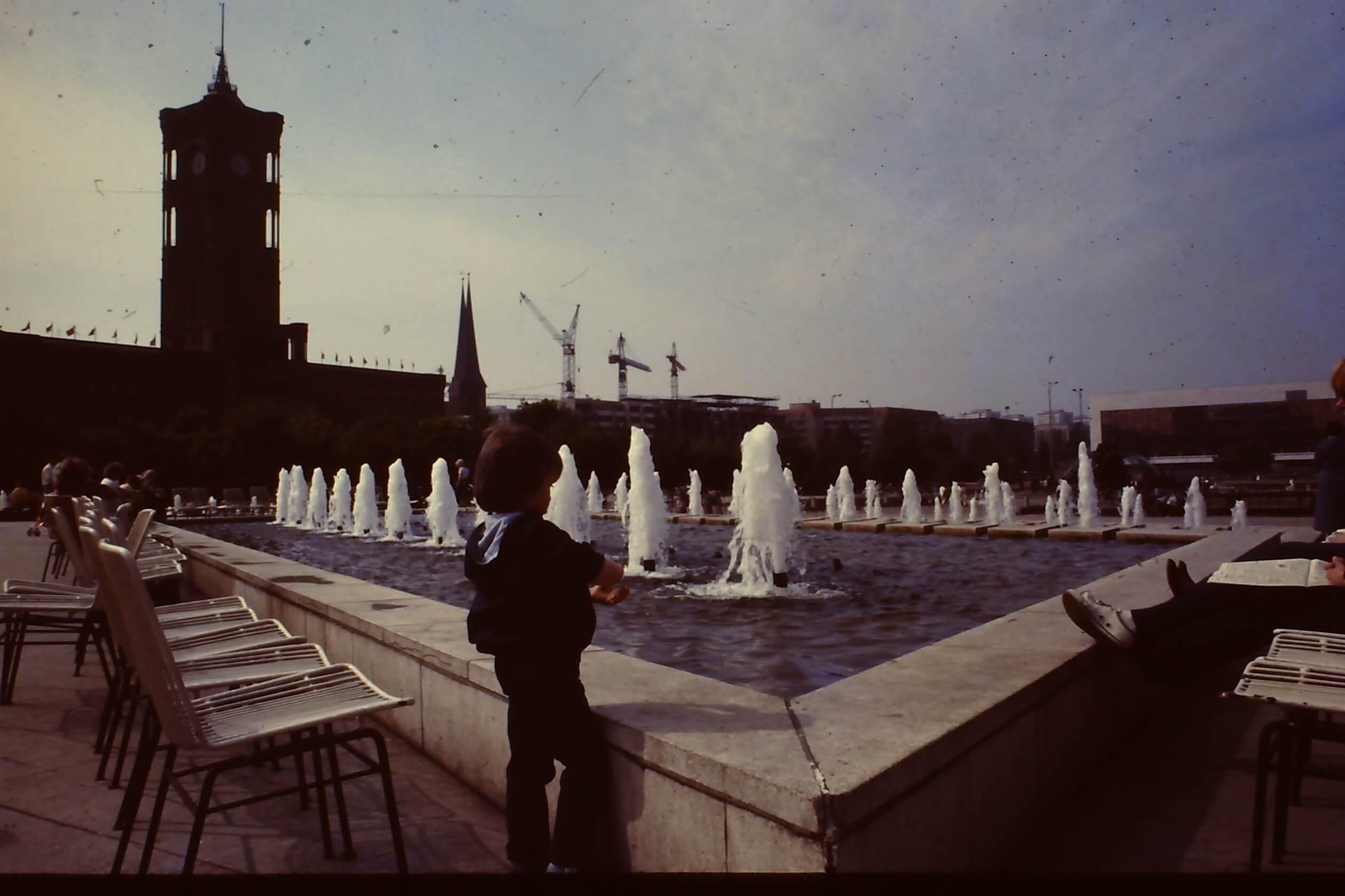Alexander Platz 1985