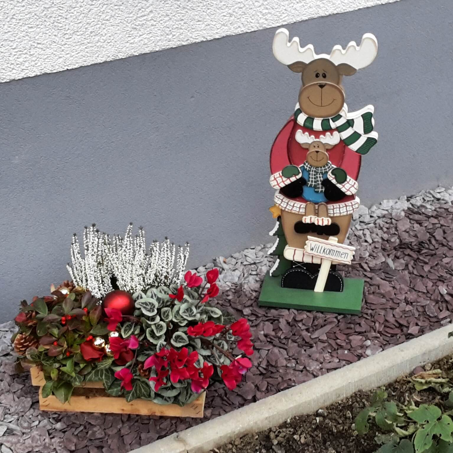 Advent: Das Küchenfenster im Chaos-Haus - Kerstin und das Chaos