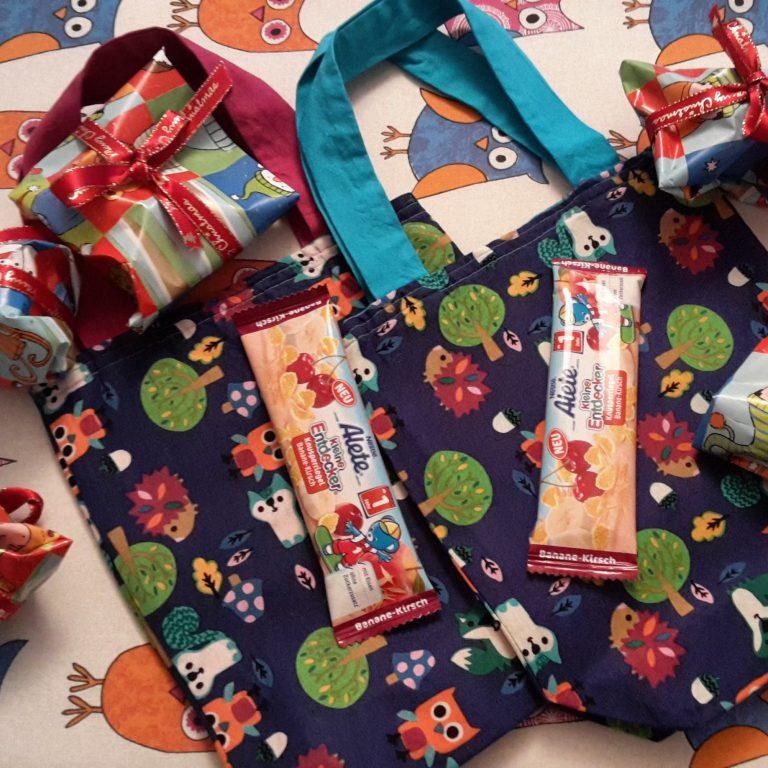 Taschen vom Nikolaus // Geschenkideen für Kleinkinder zum Nikolaus