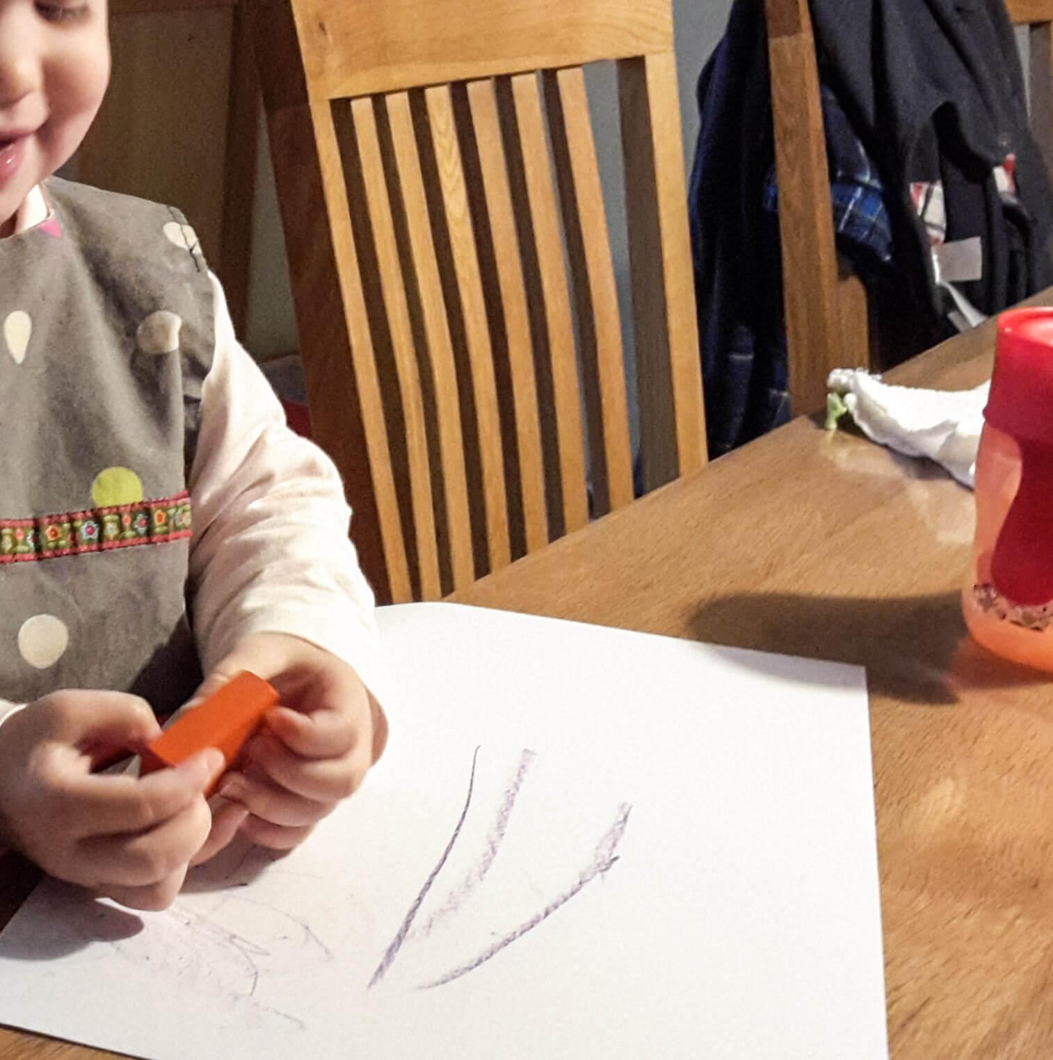 Wir malen.