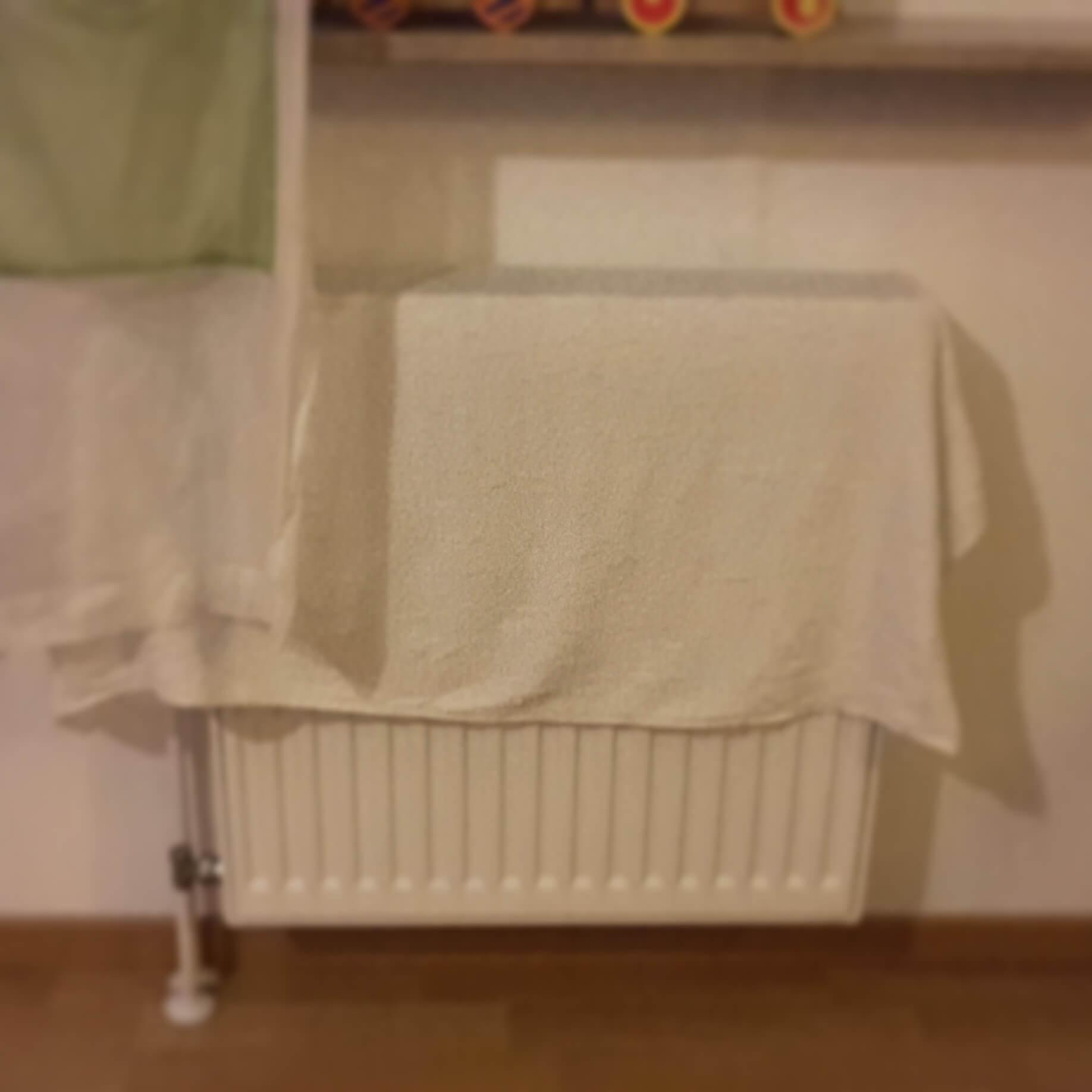 Handtücher gegen Husten