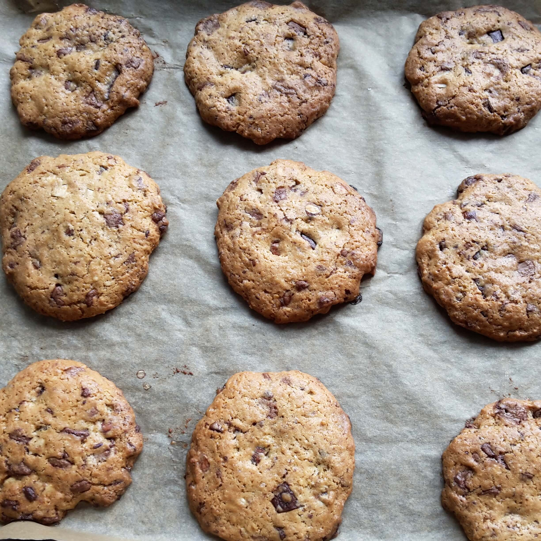 Riesige Schoko-Kekse