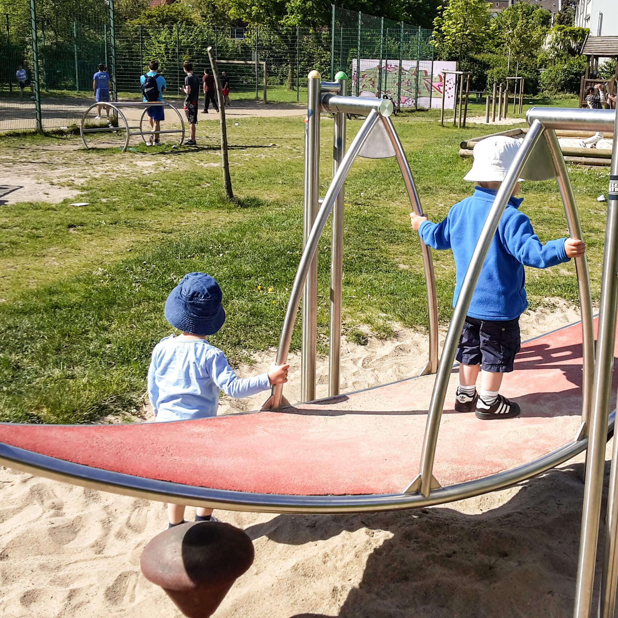 Spielplatz modern