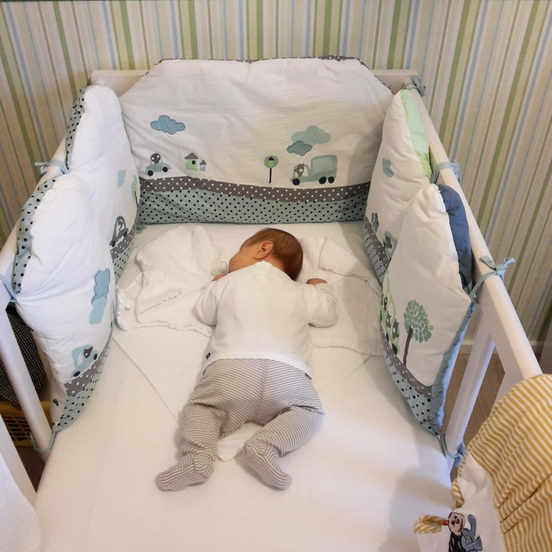 IKEA Babybett, Verbaudet Nestchen