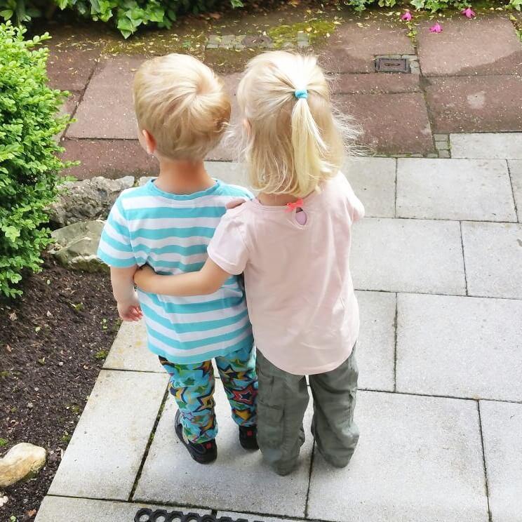 Trotzphase mit Zwillingen