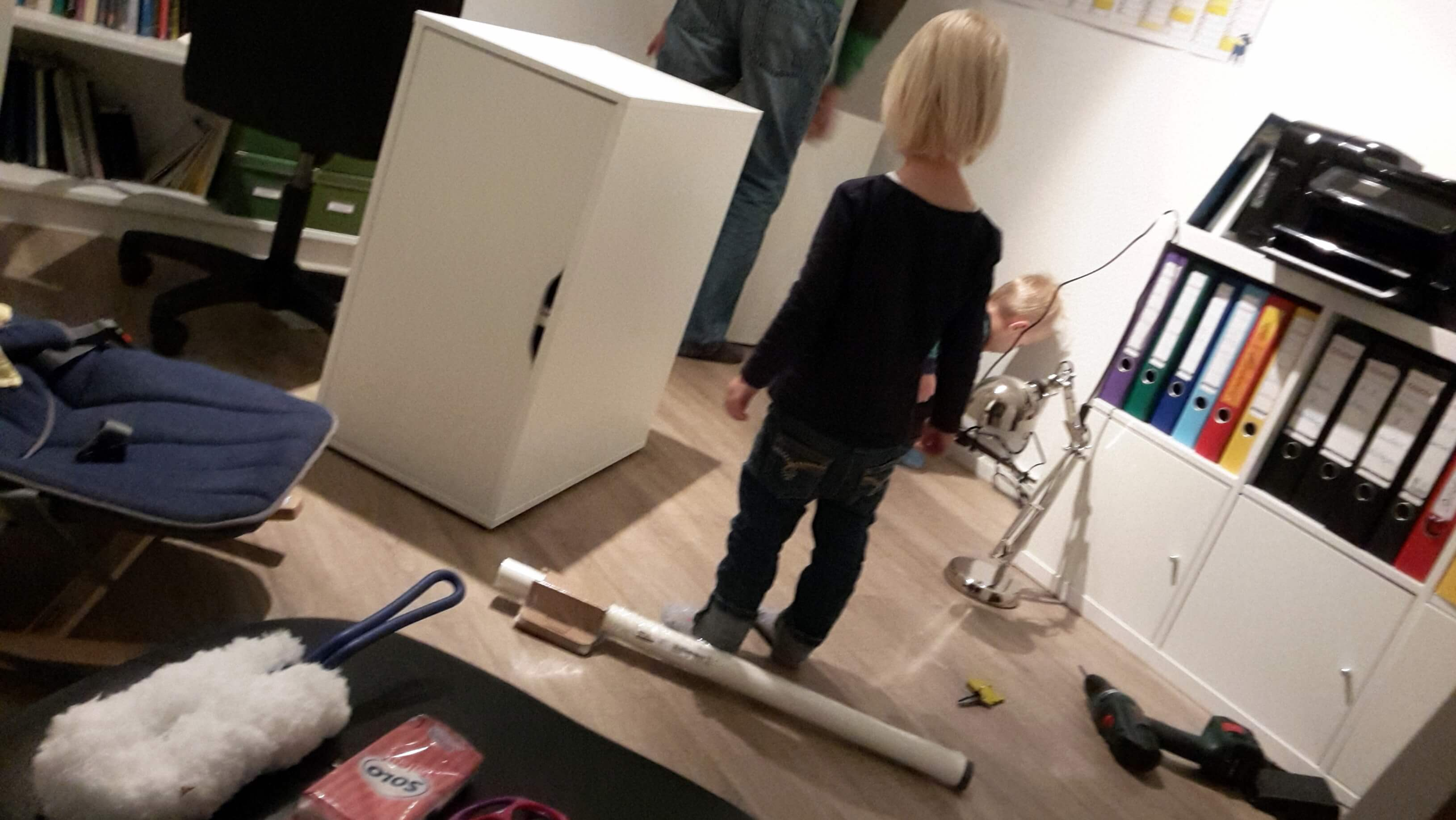 Möbel aufbauen