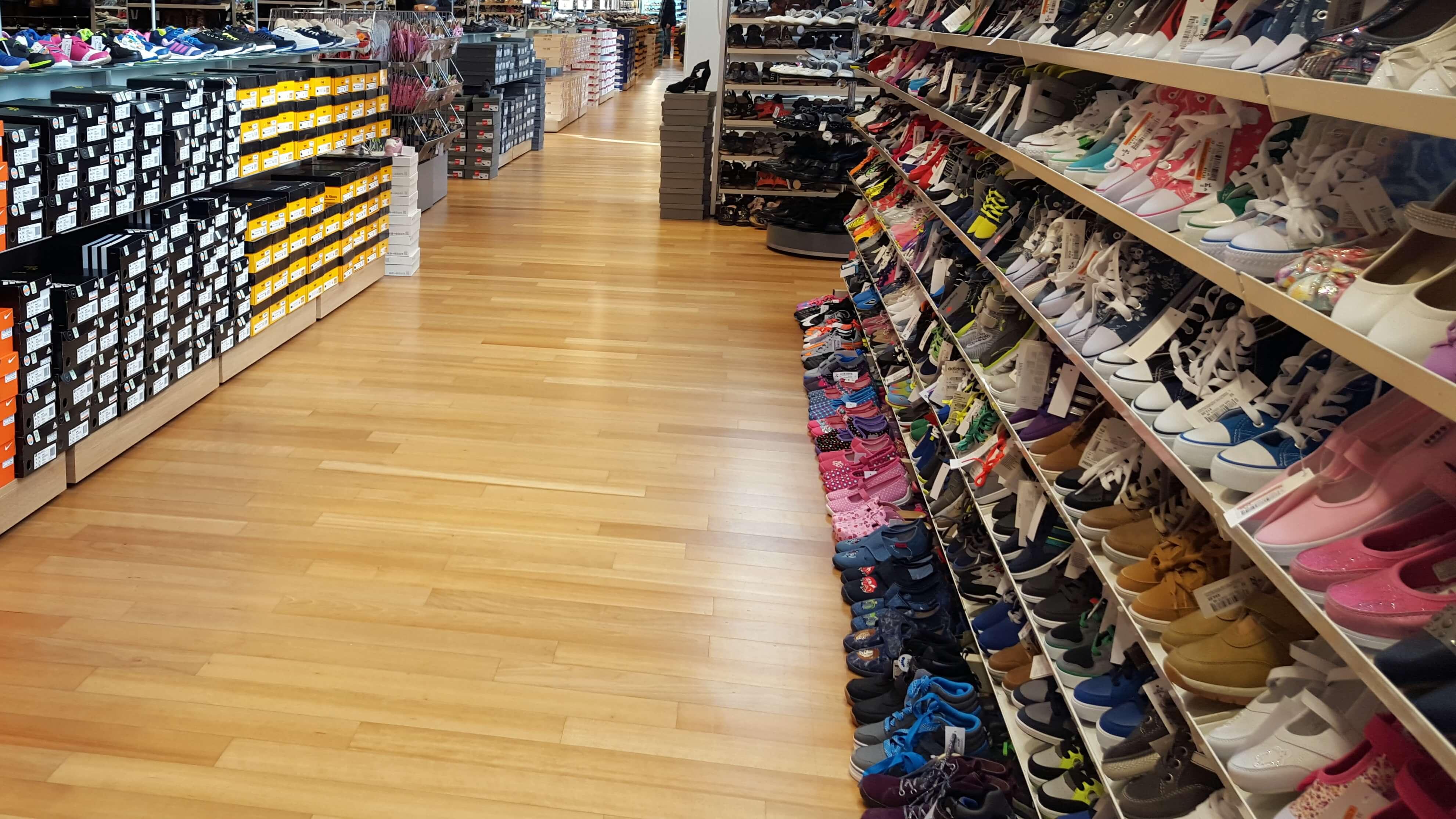 Schuh-Geschäft