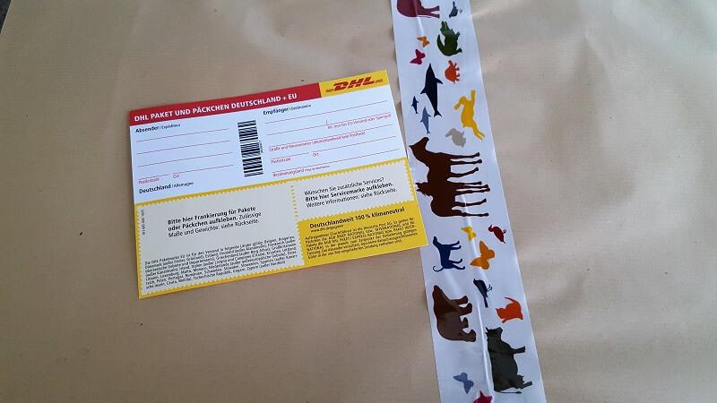 Paket verschicken
