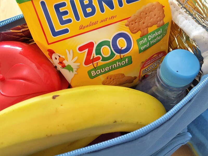 gepackte Kühltasche