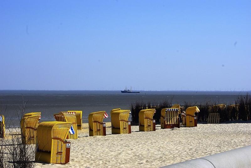 Cuxhaven Strandkörbe