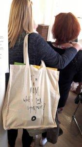 Goodiebag der Wubttika / Elternbloggerkonferenz