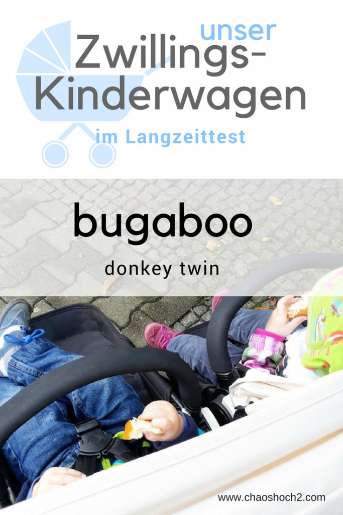 Der Zwillingskinderwagen von Bugaboo im Langzeittest