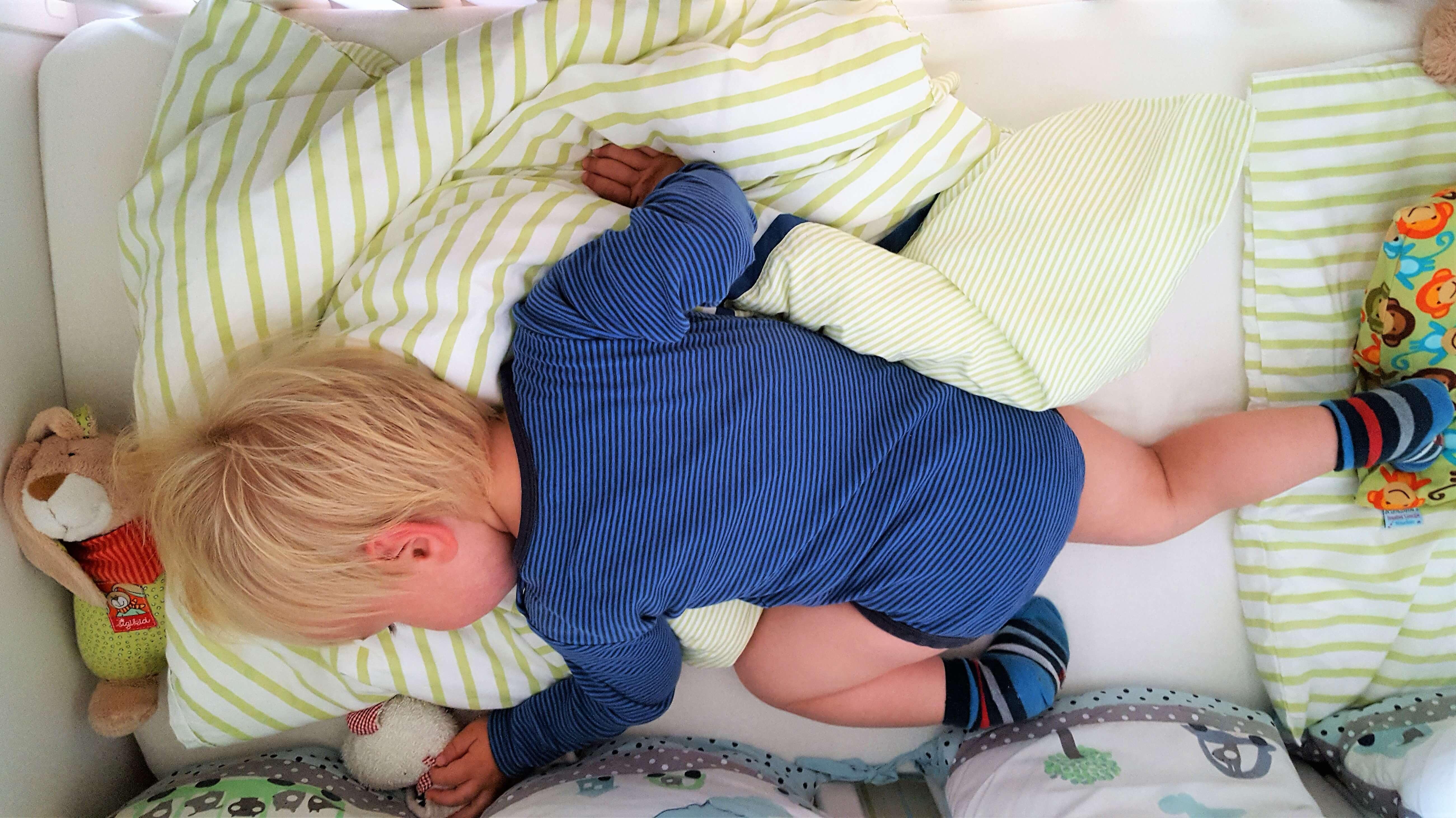 Unser Kleinkind findet keinen Schlaf