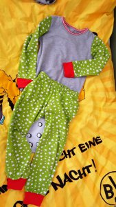 Klimperklein als Schlafanzug