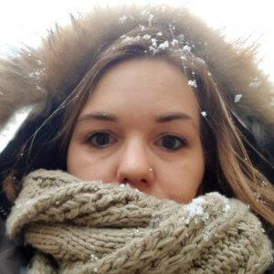 Kerstin am Nordpol
