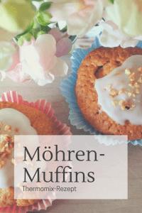 Thermomix-Rezept für schnelle Möhren-Muffins im Frühling