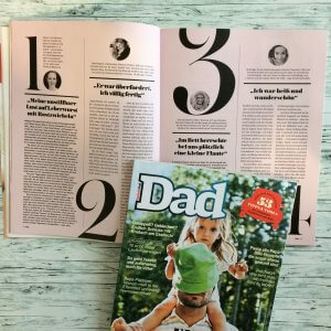 Men's Health DAD Ausgabe Frühjahr 2018