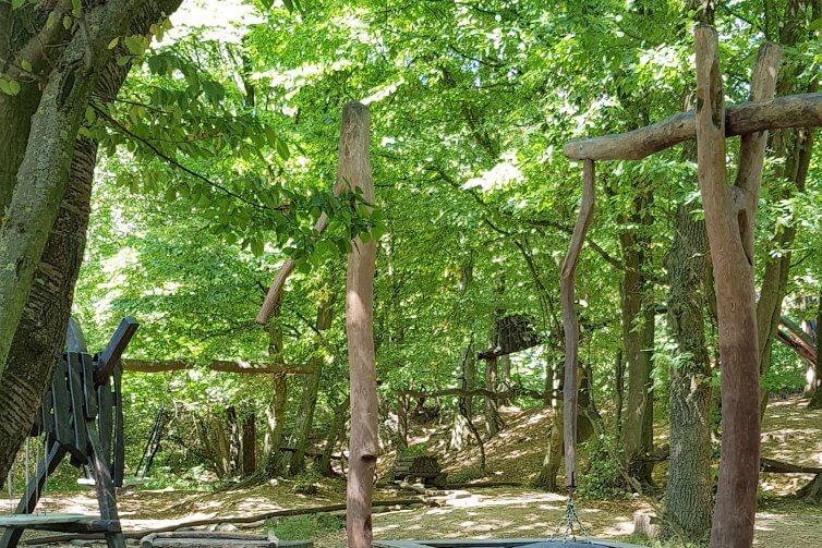 Waldspielplatz im Sauerlandpark Hemer | Mamablog Kerstin