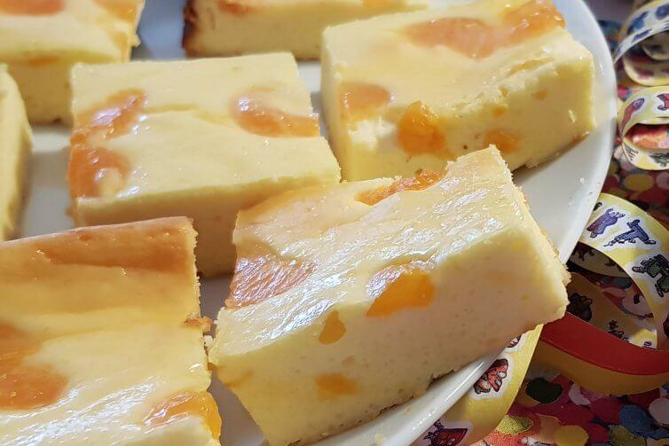 Rezept für den Käsekuchen vom Blech und andere schnelle Kuchen