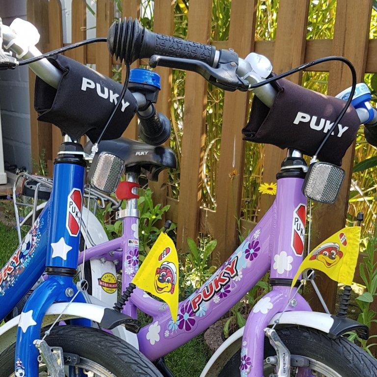 sicher mit dem Fahrrad zum Kindergarten