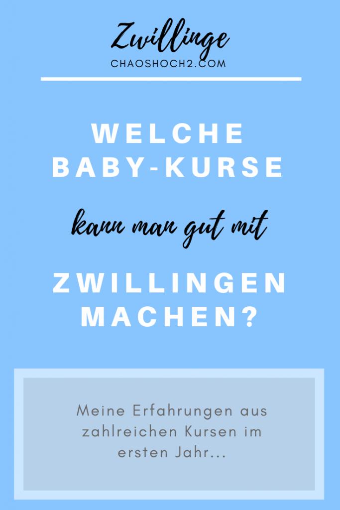 Welche Baby-Kurse kann man gut mit Zwillingen machen? Und was sollte man dabei beachten? Meine Tipps und Erfahrungen! #zwillingsmama #pekip #babymassage