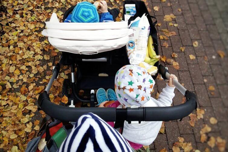 Einkaufen mit Kleinkindern und der Anspruch