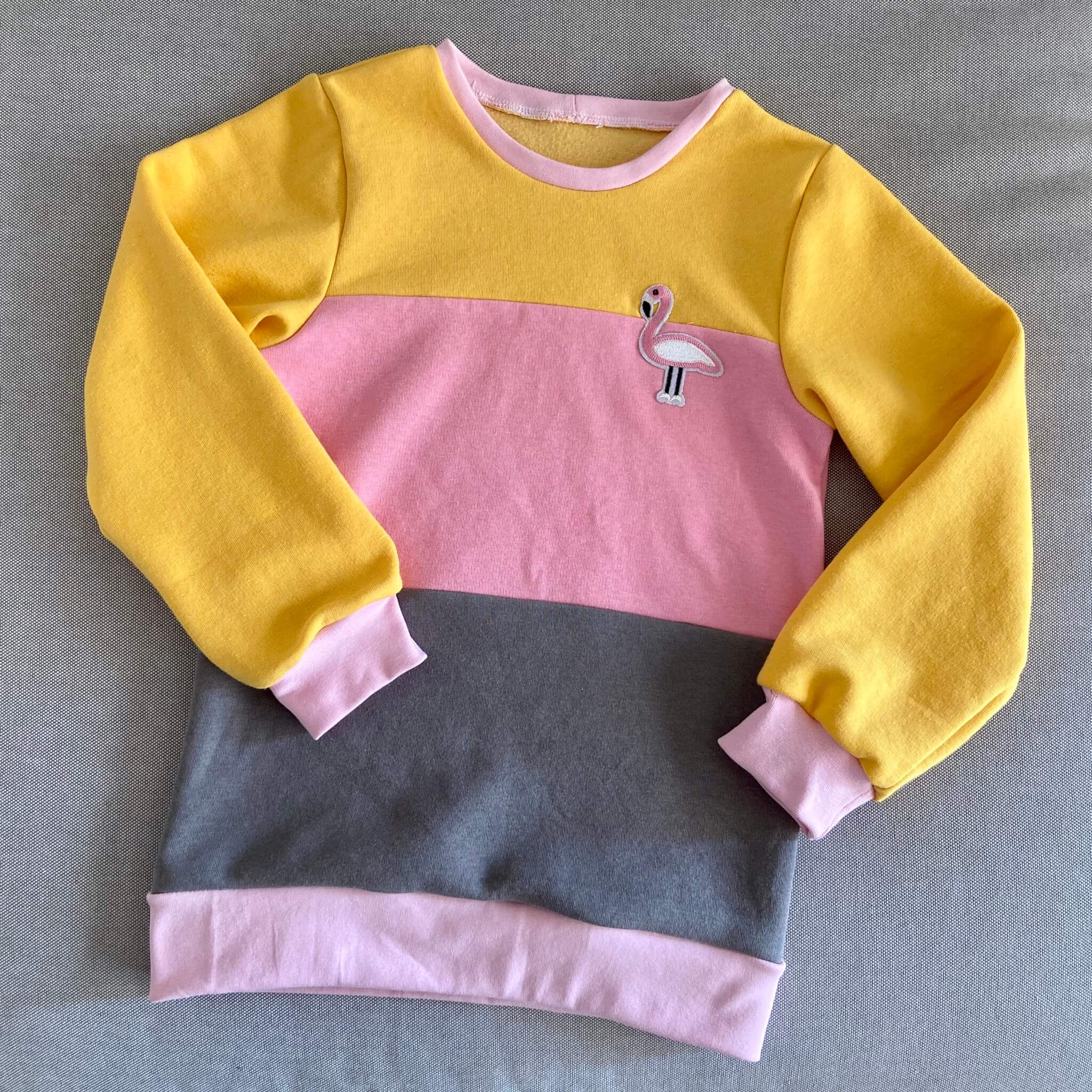 Colorblock Pulli für Kinder